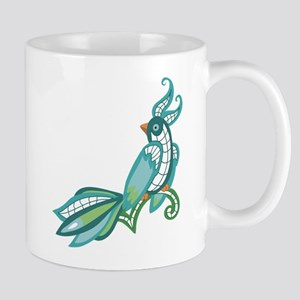 Lace Toucan Mug