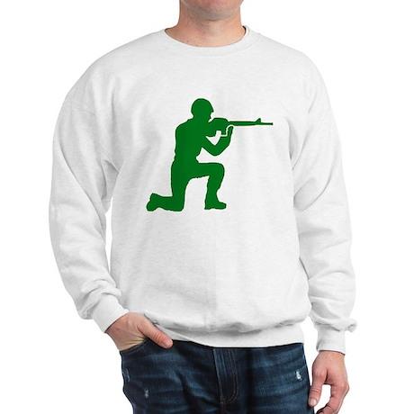 Kneeling Toy Soldier Sweatshirt