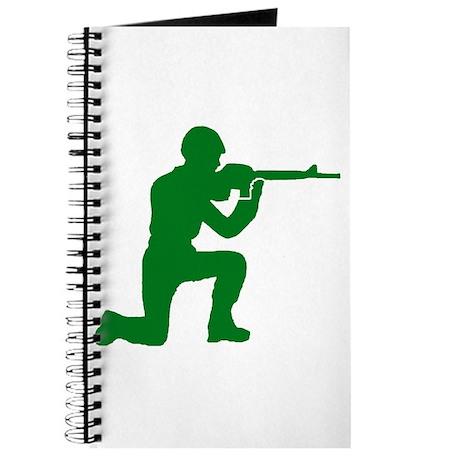 Kneeling Toy Soldier Journal