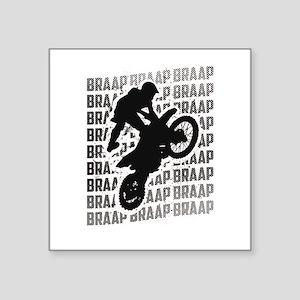 Braap Repeat Dirt Bikes Motorcycle Riding Sticker
