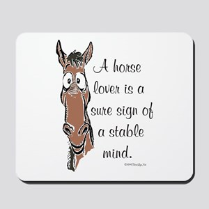 Horse Lover Mousepad