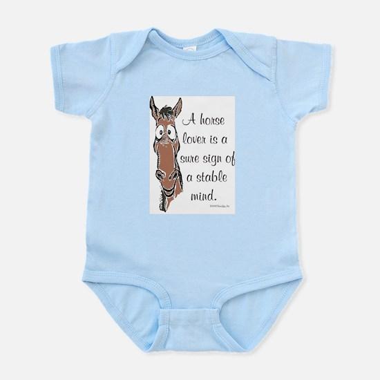 Horse Lover Infant Creeper