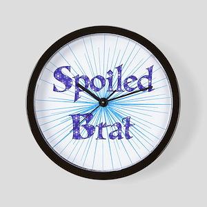 Spoiled Brat Wall Clock