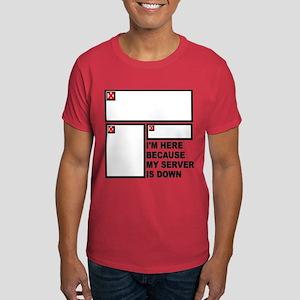 Website Humor Dark T-Shirt