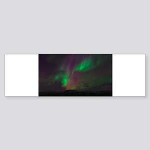 Northern Lights Bumper Sticker