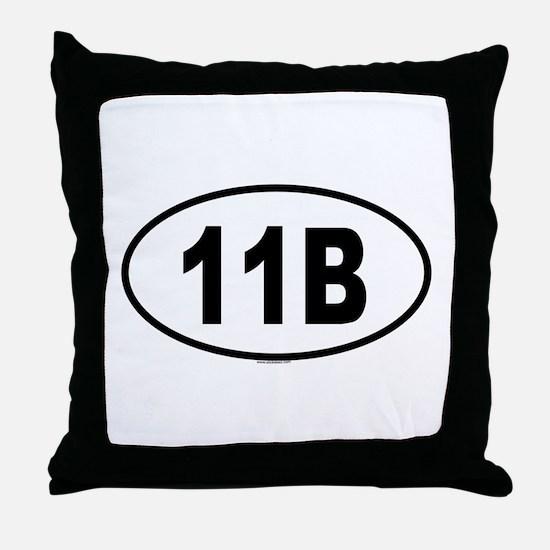 11B Throw Pillow