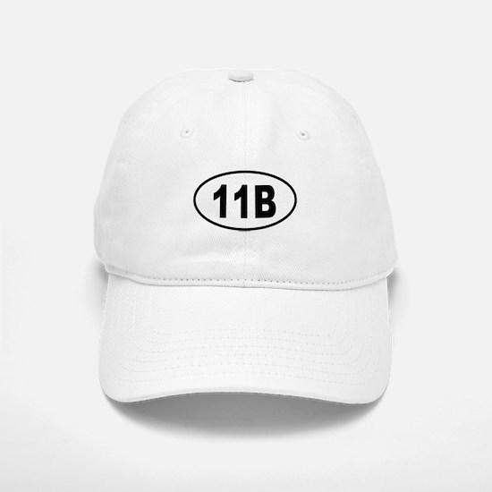 11B Baseball Baseball Cap