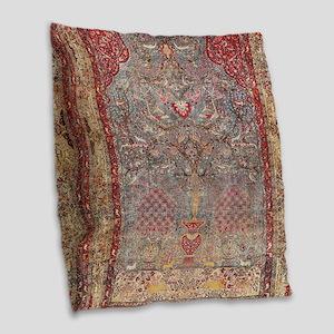 Persian Tehran Burlap Throw Pillow