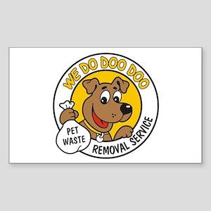 Doo Doo Rectangle Sticker