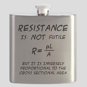 Resistance Humor Flask