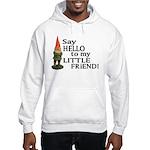 Say Hello to my Little Friend Hooded Sweatshirt