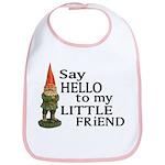 Say Hello to my Little Friend Bib
