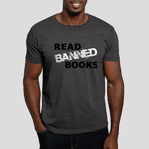 Read Banned Books Dark T-Shirt