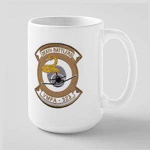 VMFA 323 Death Rattlers Large Mug