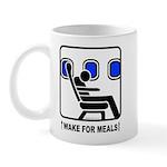 WAKE For MEALS! Mug
