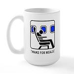 WAKE For MEALS! Large Mug
