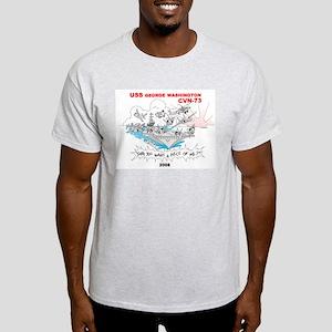 CVN-73 Light T-Shirt