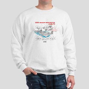 CVN-73 Sweatshirt