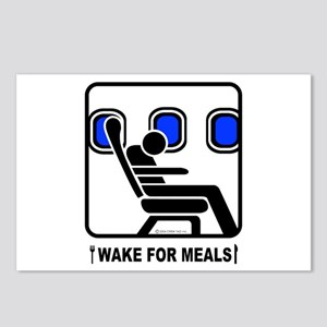WAKE For MEALS! Postcards (Package of 8)