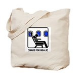 WAKE For MEALS! Tote Bag