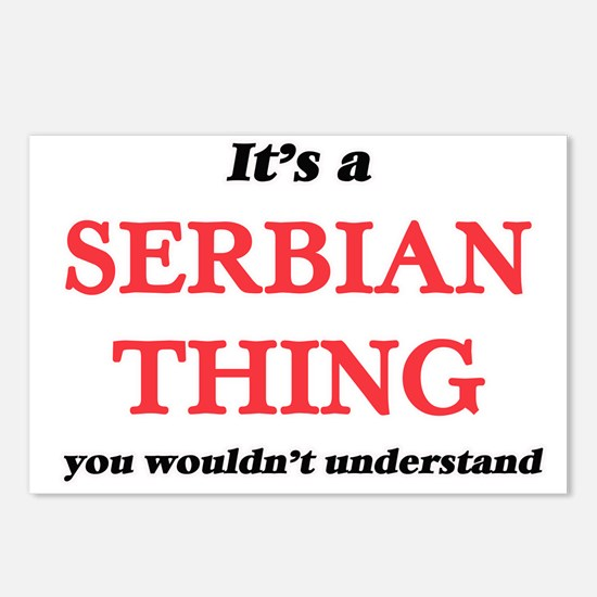 It's a Serbian thing, Postcards (Package of 8)