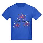 USA July 4th Fireworks Kids Dark T-Shirt