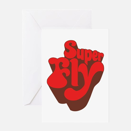 Superfly Greeting Card