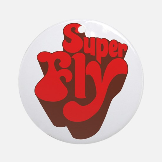 Superfly Ornament (Round)