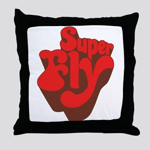 Superfly Throw Pillow