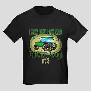 Tractor Tough 3rd Kids Dark T-Shirt