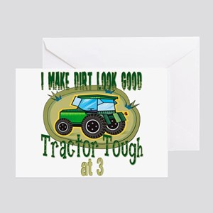 Tractor Tough 3rd Greeting Card