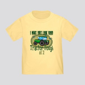 Tractor Tough 2nd Toddler T Shirt
