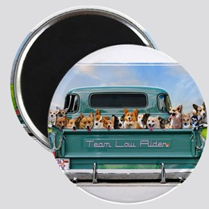 Corgi Pick Up Truck Magnets