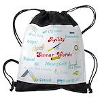 Agility Swear Words Drawstring Bag