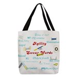 Agility Swear Words Polyester Tote Bag