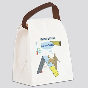 HandlersPrayerTouch Canvas Lunch Bag