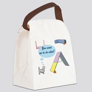 YouWantWhat Canvas Lunch Bag