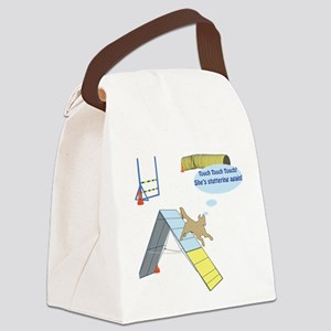 Touch Stutter Canvas Lunch Bag