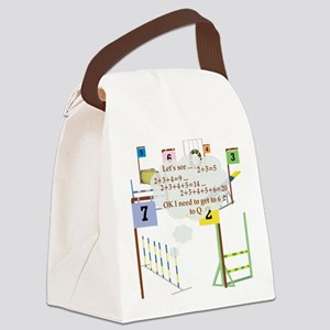 SnookerMath Canvas Lunch Bag