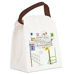 SnookerMath Canvas Lunch Bag