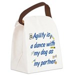 Agility Dance Canvas Lunch Bag