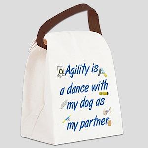 Agility Dance Canvas Lunch Bag