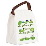 AgilityNoviceButton Canvas Lunch Bag