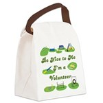 AgilityVolunteerSquare1 Canvas Lunch Bag