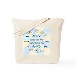 agilityClock2 Tote Bag