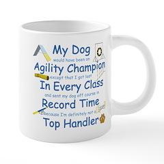 Agility Top Handler 20 oz Ceramic Mega Mug
