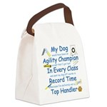 Agility Top Handler Canvas Lunch Bag