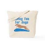 DivingFunForDogs.png Tote Bag