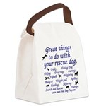 Great Dog Activities Canvas Lunch Bag