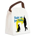 Right on for Rally Canvas Lunch Bag